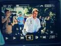 Экс-главу КГГА Попова после суда облили йодом (фото, видео)