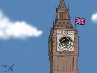 Большая стирка: карикатура DW на отмывание российских миллиардов