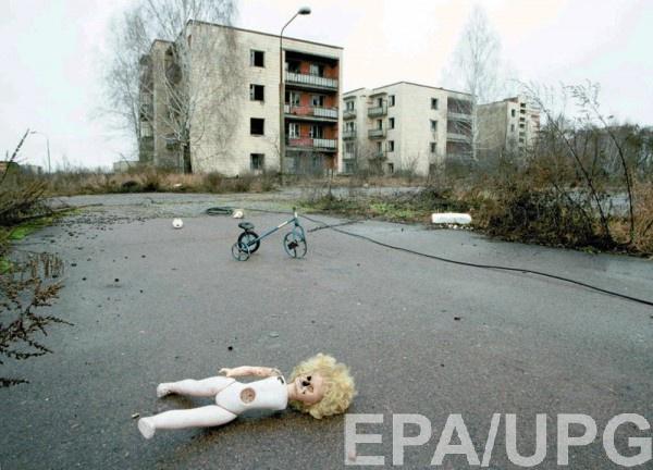 В результате аварии Припять стал городом-призраком