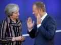 Туск обсудил с Мэй ситуацию по Brexit