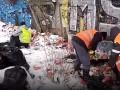 Вдоль реки Лыбедь собрали более 200 мешков мусора