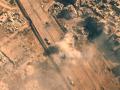 Появилось видео наступления сирийской армии, снятое с неба