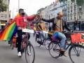 В Германии ЛГБТ-парад провели на велосипедах