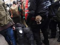 Митинг под Радой: четверо пострадавших