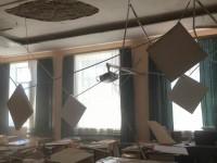 В России после капремонта на школьников рухнул потолок