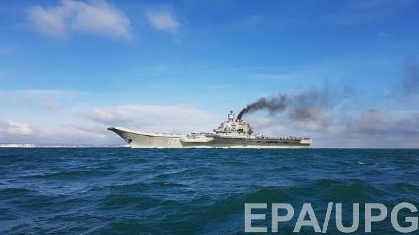 Руководитель армии Ливии посетил авианосец «Адмирал Кузнецов»