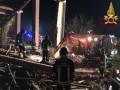 В Италии три спасателя погибли при взрыве в здании