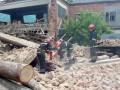 В Хмельницкой области рухнула стена мебельной фабрики