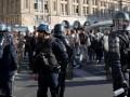 Протесты в Париже: полиция задержала более 160 человек