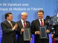 Лучшие фото недели: подписание ассоциации с ЕС и разгромленный аэропорт в Донецке