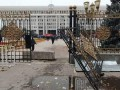 В Бишкеке показали последствия пожара в парламенте