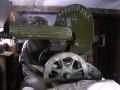 Бойцы ВСУ на Донбассе используют пулемет 1910 года