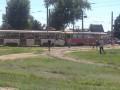 В Харькове не смогли разминуться два трамвая
