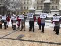 В Киеве два десятка проституток вышли на митинг