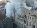 Пожар в Одессе: число пострадавших увеличилось