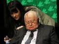 Горбачев заснул во время саммита нобелевских лауреатов