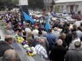 В Крыму митинги крымских татар прошли в сопровождении ФСБ
