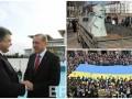 День в фото: Порошенко в Турции, национальный флаг во Львове и Запорожье без Дзержинского