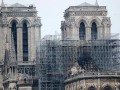 В Париже начались работы по очистке Нотр-Дама от свинца