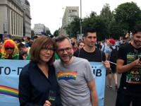 Евродепутат похвалила полицию за действия во время Марша равенства