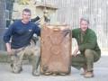 Коллекционер танков нашел в топливном отсеке пять золотых слитков