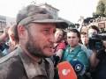Как в Киеве митинговал Правый сектор: фото с Майдана