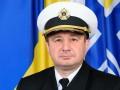 Минобороны уволило начальника штаба ВМС Украины
