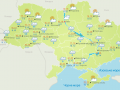 В Украину пришли осенние ливни