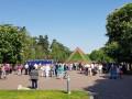 В Киеве возложили цветы к Кургану бессмертия