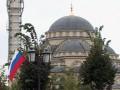В центре Грозного  более 100 тысяч человек спели гимн России