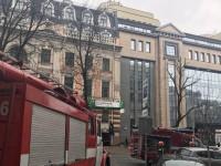 В центре Киева час тушили пожар