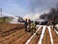 В испанской Севилье разбился военный самолет, 10 человек погибли