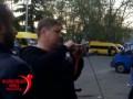 В Грузии полиция задержала активистов, снимавших георгиевские ленточки с мотоциклов россиян