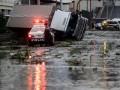Жертвами тайфуна в Японии стали десять человек