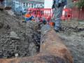В Киеве за сутки произошло более 300 прорывов труб