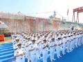 В Китае спустили на воду универсальный десантный корабль