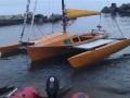 Украинец плыл в Турцию на тримаране и потерпел крушение