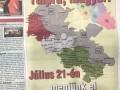 СБУ потребовало экспертизу венгроязычной газеты на Закарпатье