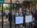 В Харькове протестовали против размещения в больнице пациентов с COVID-19