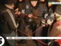 Под Печерским райсудом произошли столкновения милиции с участниками пикета в поддержку Власенко