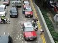 В Гонконге на дорогу рассыпали 4,5 млн долларов