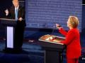 Трамп отреагировал на слова Клинтон об участии в выборах