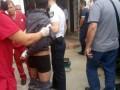 В Одессе полицейский подстрелил иностранца