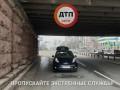 С Воздухофлотского моста на авто падают куски бетона