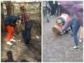 В Чернигове школьницы жестоко избили ровесницу