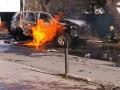 В Мариуполе взорвался автомобиль с полковником СБУ