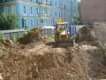 В Десятинном переулке вновь началось незаконное строительство