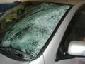 На трассе Киев-Одесса подростки бросались камнями по авто