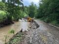 Наводнение на Закарпатье подтопило почти 500 приусадебных участков