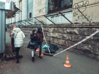 В Киеве под Шулявским мостом умер мужчина